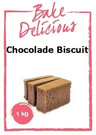 Bake Delicious Chocolade Biscuit 1 kg.