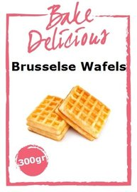 Bake Delicious Brusselse Wafels 300 gr