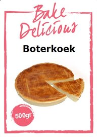 Bake Delicious Boterkoek