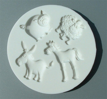 Alphabet Moulds Farm Animals