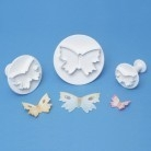 Plunger Cutter Butterfly mini set/3