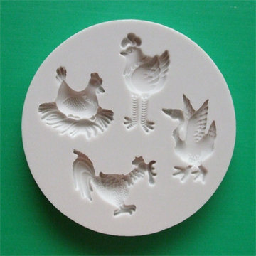 Alphabet Moulds Farm Birds