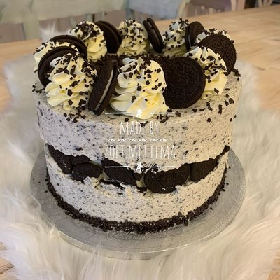Dinsdag 6 mei, Oreo cake workshop