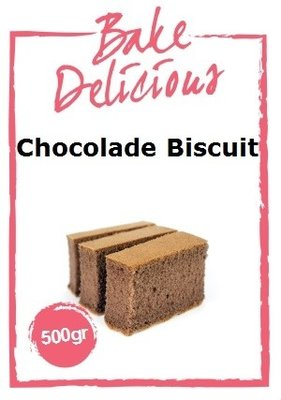 Bake Delicious Chocolade Biscuit 500 gr.