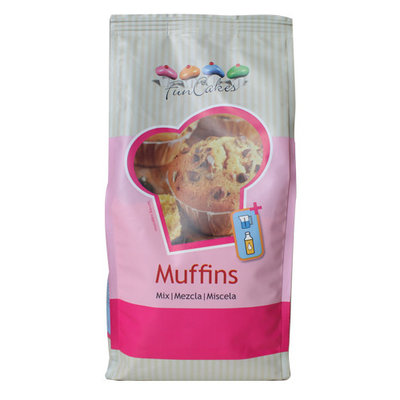 FunCakes Mix voor Muffins 1 kg.