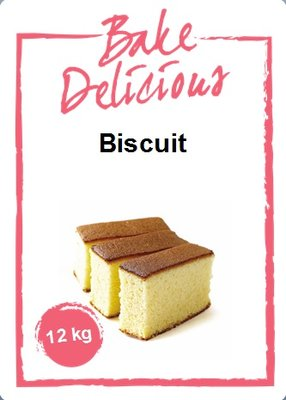 Bake Delicious Biscuitmix 12 kg.