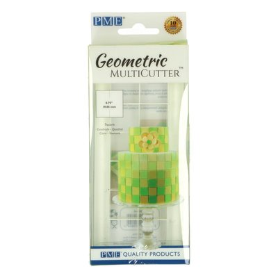PME Geometric multi cutter Square Set/3