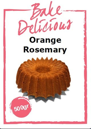 Bake Delicious Orange Rosemary Cake 500 gr.