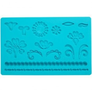 Wilton Fondant & Gum Paste Mold Damask