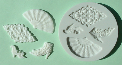Alphabet Moulds Vintage