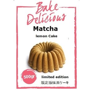 Bake Delicious Matcha Lemon Cake 500 gr.