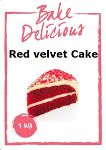 Bake Delicious Red Velvet Cake 1 kg.